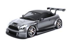 MINI DTM design study - Racing version | MINI DTM designová studie - Závodní verze