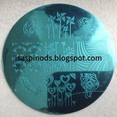 ♥ Placa BP-51 de la web Born Pretty Store -> www.bornprettystore.com