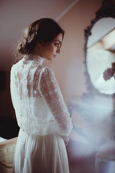 Gaia - elegancka suknia ślubna - ateliertwardowska.com