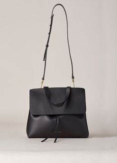 Mansur Gavriel Lady Bag (Black / Flamma)