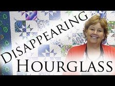 What a great tutorial from the Missouri Star Quilt Company on how to make a disappearing hourglass block!