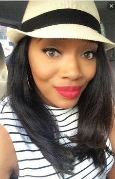 Yandy smith cute hairstyle