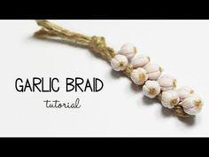 polymer clay Garlic Braid TUTORIAL - YouTube