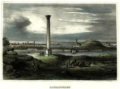 Library of Alexandria - Alexandria (1850)