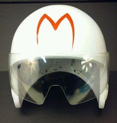 Mattel Speed Racer Movie Talking Electronic Race-a-Round Costume Helmet w/ Visor #Mattel