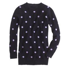 Collection cashmere polka-dot sweater/