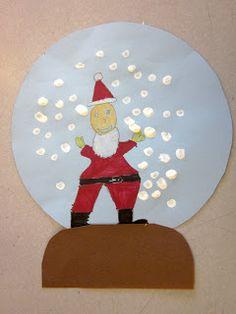 Art is Basic-- Art Teacher Blog: Snowglobe Picture