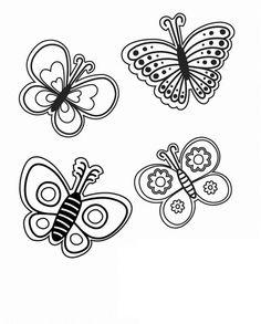Various Kinds of Butterflies