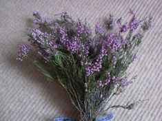 If you don't have access to heather, you can buy wild heather easily online. | 24 Ways To Have The Ultimate Burns Night Supper