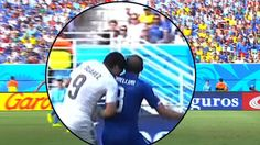 Now that Uruguay's striker Luis Suarez was caught on video again last night, this time sinking his teeth into Italy's defense player Giorgio Chiellini, he could face a lengthy ban from playing soccer if convicted. But Suarez's bite poses larger questions: Is football a continuation of war with other means? Is it a clash of cultures? And are there national traits that each team expresses in its soccer style?  http://thomaszweifel.blogspot.ch/2014/06/world-cup-culture-clash.html