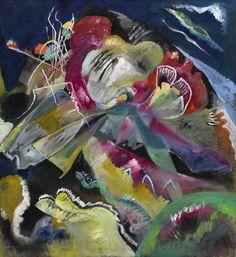 Wassily Kandinsky BILD MIT WEISSEN LINIEN (PAINTING WITH WHITE LINES) Estimate Estimate Upon Request