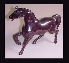 Heavy Metal Horse with Indian Rider  Brown Stallion by glosgreats, $15.00