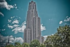 Zip up to the 34th floor and into the unisex bathroom of the Cathedral of Learning for unspoiled views of the Oakland neighborhood. Be sure to also stop by the Nationalities Rooms to embrace the different cultures that make up our beautiful city.