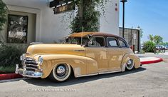'48 Chevy Master sedan.This the same body style as mine except mine is painted light blue pearl.