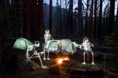 LED Light Painting by Darren Pearson (aka Darius Twin)
