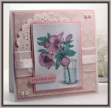 flourishes stamps lenten rose cards - Google Search