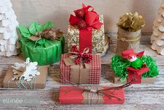christmas gift embellishments - Google Search