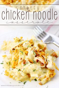 This Cheesy Chicken Noodle Casserole is a comforting and delicious dish full of…