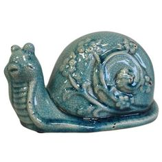 Garden Ornament - Alice Follie's Collection - Brian the Snail - Various Colours