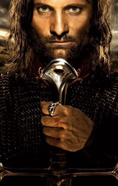 Aragorn and his sword.