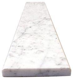 - Polished - 6 x 60 Marble Saddle Vogue Tile Absolute Black Granite Threshold