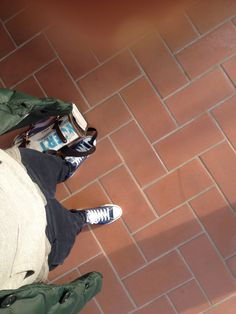 Tuesday morning #alfrecreation #bobbackpack #blue # converse