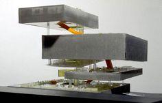 floating platforms model