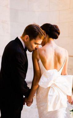 Classic Black + White Manhattan Central Park Wedding