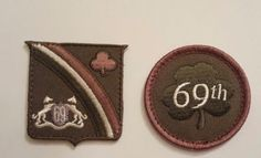 Irish Brigade The Fighting Sixty Ninth 69th Infantry Clover Decal