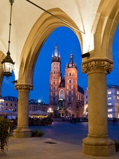 My birth & childhood town  - Krakow, Poland
