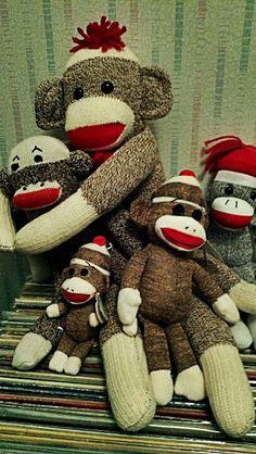 ♥ Sock Monkeys