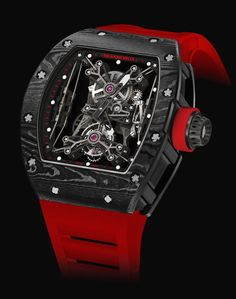 RM 50-27-01 Suspended Tourbillon By Richard Mille