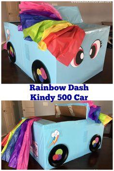 Kindy 500 Car - Rainbow Dash - eventstocelebrate.net