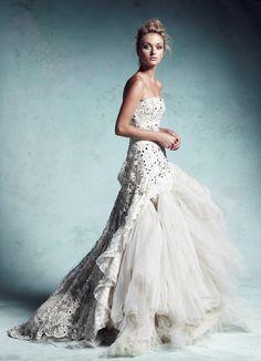 Colette Dinnigan dream bridal dress