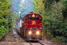 Arkansas Missouri Scenic Excursion Train from Fort Smith to Winslow, Arkansas