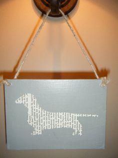 diy weenie dog bag
