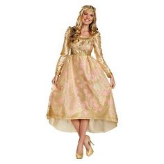 Disney Maleficent Women's Aurora Coronation Gown Costume
