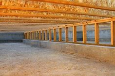 Making A Crawl E Vapor Barrier Is Great Way To Keep Harmful Water From Collecting On Pipes And Foundation Walls Within Beneath House