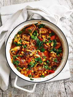 Make a double batch of this sausage casserole recipe and save one for a busy day.
