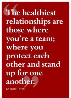Teamwork makes the dream work. ❤️