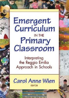 Buy Emergent Curriculum in the Primary Classroom: Interpreting the Reggio Emilia Approach in Schools by Carol Anne Wien and Read this Book on Kobo's Free Apps. Discover Kobo's Vast Collection of Ebooks and Audiobooks Today - Over 4 Million Titles! Reggio Emilia Classroom, Reggio Inspired Classrooms, Primary Classroom, Classroom Ideas, Classroom Supplies, Preschool Classroom, Future Classroom, Emergent Curriculum, Preschool Curriculum