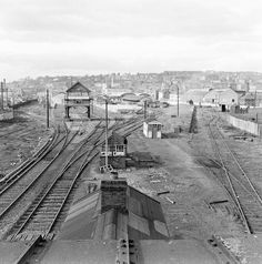 Train station - Sidings at Maynooth? No - it's Cork! by National Library of Ireland on The Commons, via Flickr