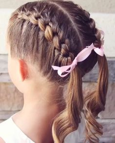 Hairstyles For Little Girls Fair Hair Style For Little Girls Hairstyles To Try  Pinterest