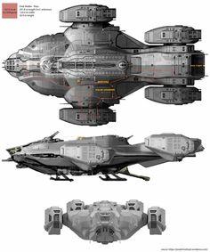 Raza Spaceship in Dark Matter