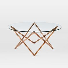"Lounge 30""dia Metal Spindle Coffee Table 