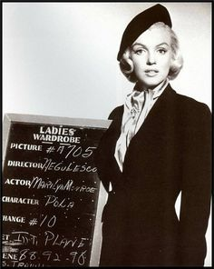 """❤ Marilyn Monroe ~*❥*~❤ - Costume Test - """"How to Marry a Millionaire"""" (1953)"""