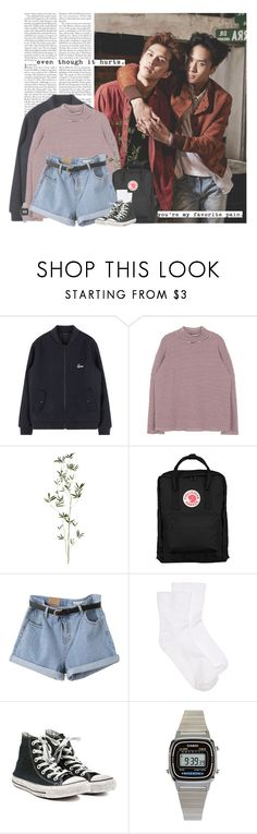 """RaKen: even though it hurts. you´re my favorite pain."" by yxing ❤ liked on Polyvore featuring Edition, Crate and Barrel, Fjällräven, Hue, Converse, American Apparel, kpop, vixx, Ken and ravi"