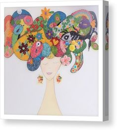 Hair Canvas, Canvas Art, Very Beautiful Images, Thing 1, Acrylic Sheets, Got Print, Stretched Canvas Prints, Canvas Material, Art Market