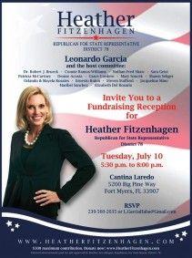 Political Fundraiser Invitations  Meet Greet And Upport  Matt