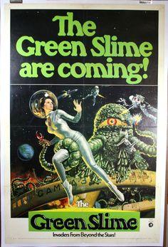 classic sci fi monsters | GREEN SLIME, 1968 SCI-FI MOVIE Classic